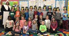 McFall first graders re-enact the first Thanksgiving.