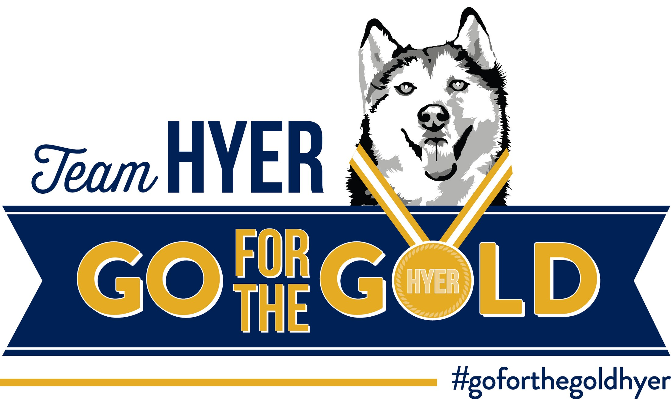 Image result for hyer husky go for the gold
