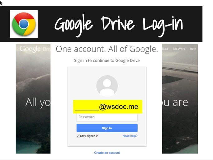 Goggle Drive log in