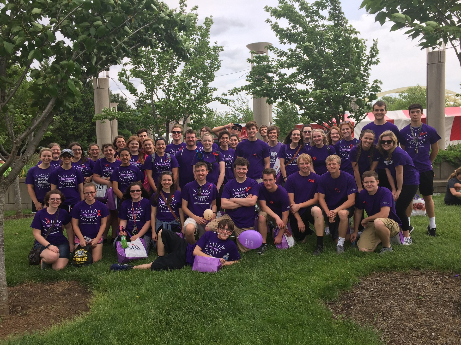 2017 March of Dimes walk