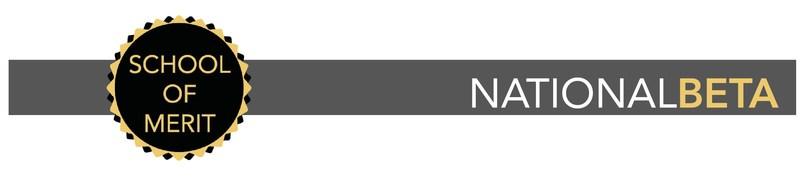 National Beta School of Merit logo