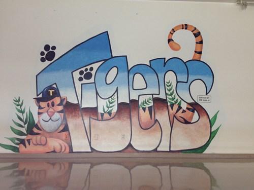 De Anza Tigers Mural
