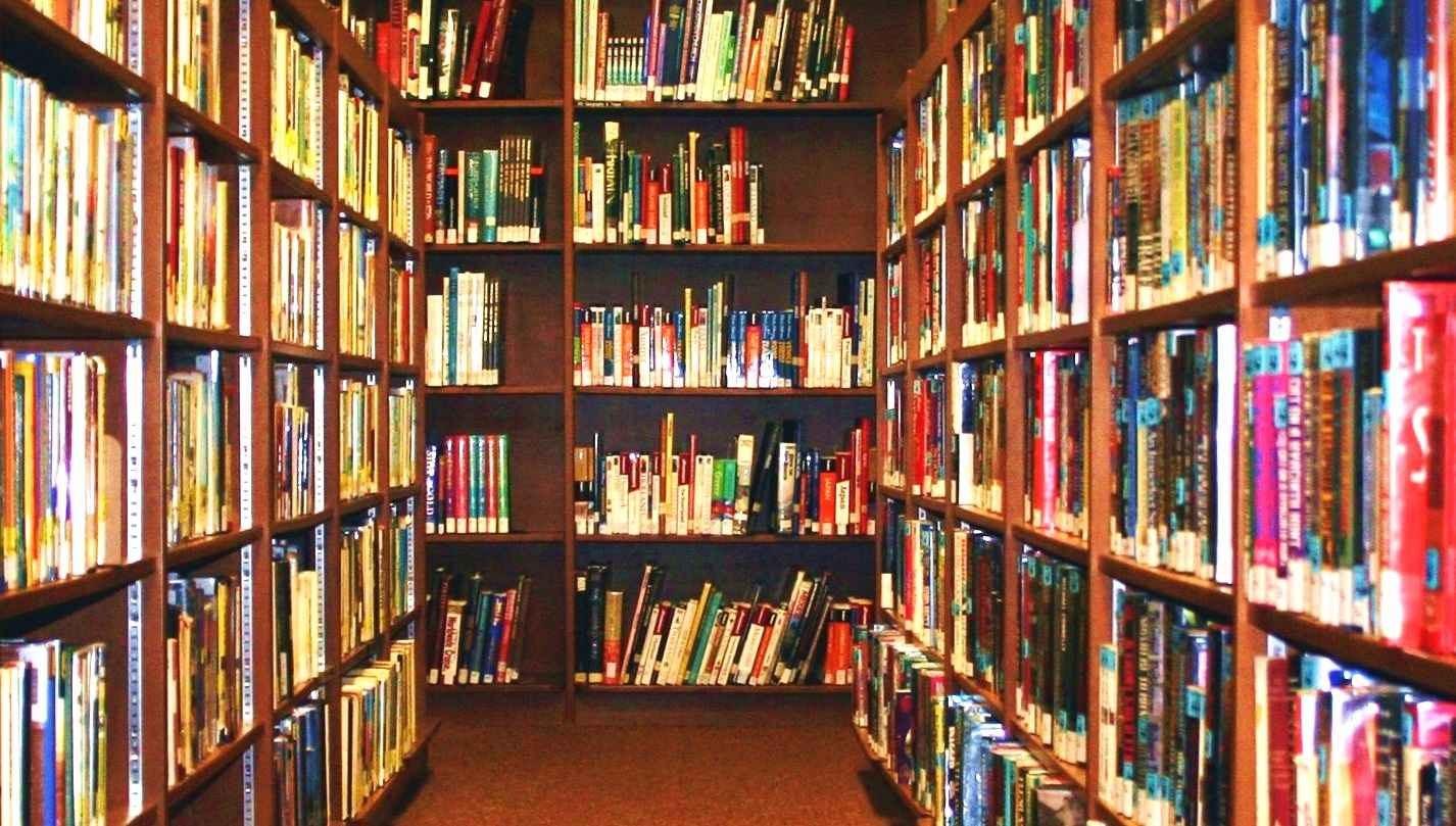 Photo of books.