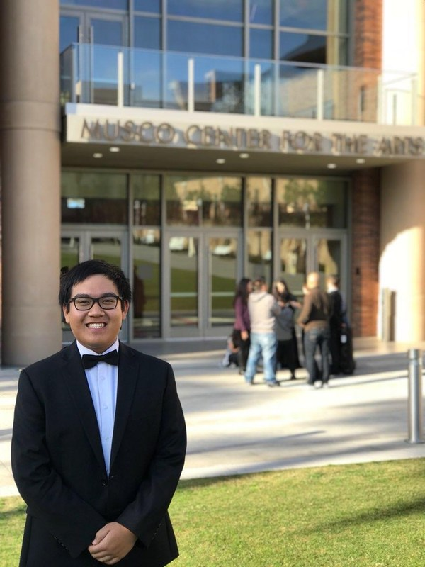 BGHS Sophomore Accepted into the Philharmonic Society's OC Youth Symphony! Thumbnail Image