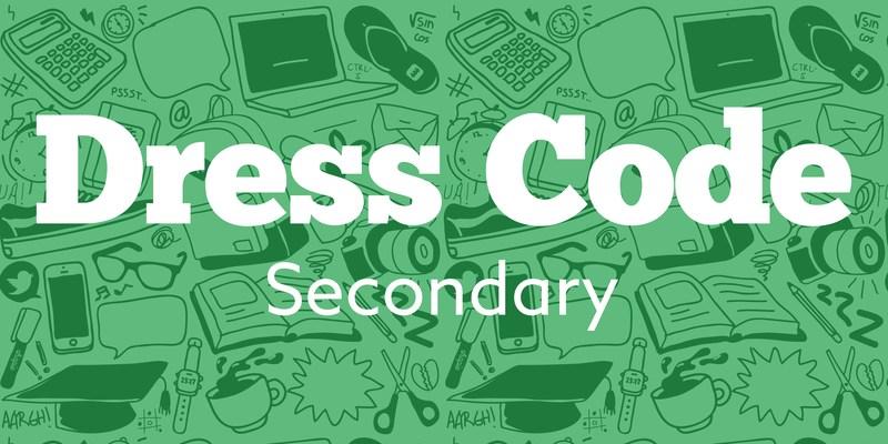 VISD Secondary Dress Code Thumbnail Image