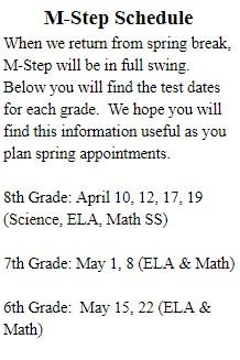 M-Step Schedule