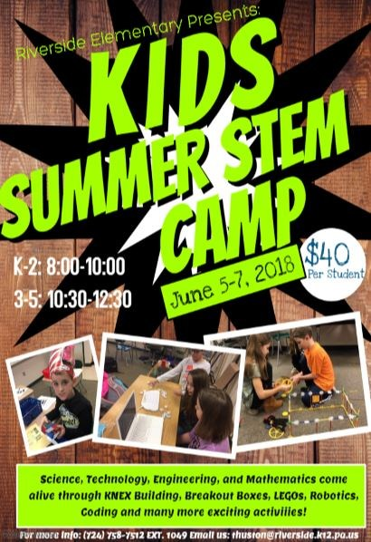 New KIDS Summer STEM Camp! Featured Photo