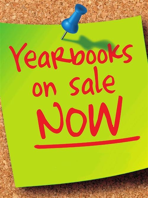 YEARBOOKS ARE ON SALE! Thumbnail Image
