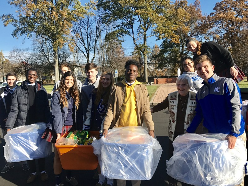 Union Catholic's Thanksgiving Food Drive is latest example of its commitment to Social Justice Thumbnail Image