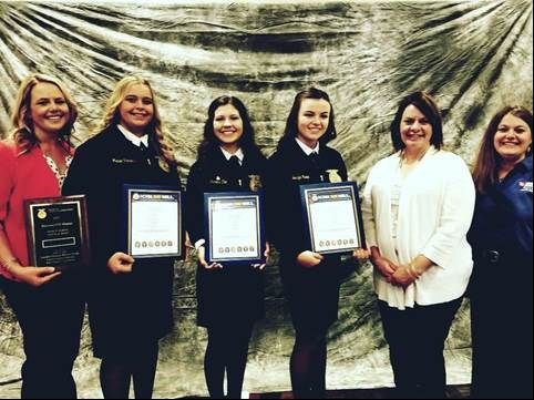 Frontier High School National FFA Champs.