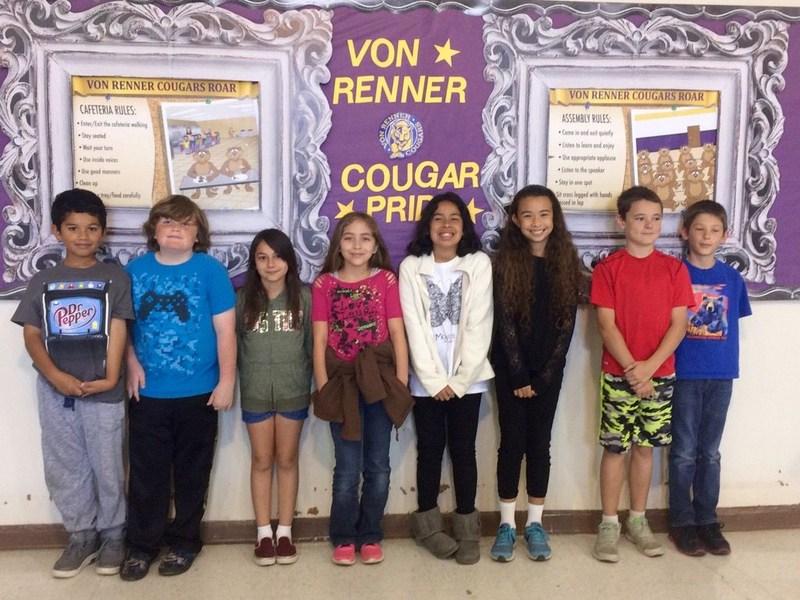 VR Spelling Bee finalists