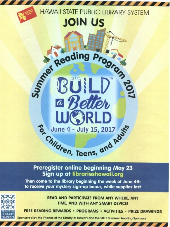 Hawaii Public Library Summer Reading Program Thumbnail Image