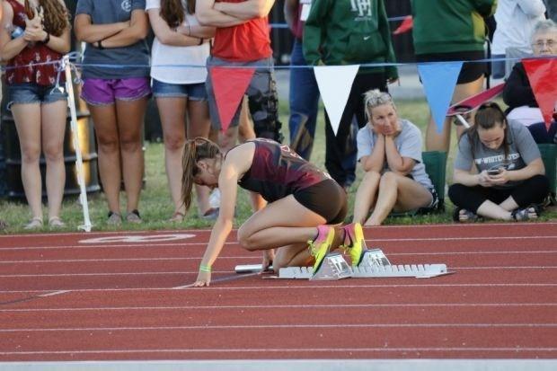 DBHS Track & Fields student