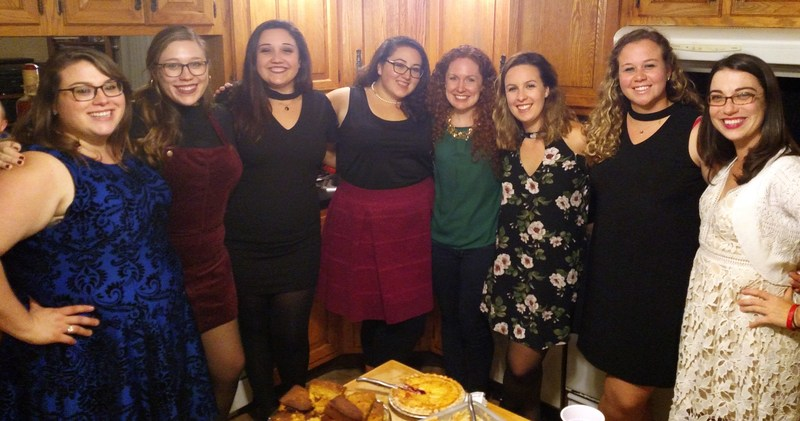 IHA Friendsgiving Spans 5 Years of Graduates Thumbnail Image