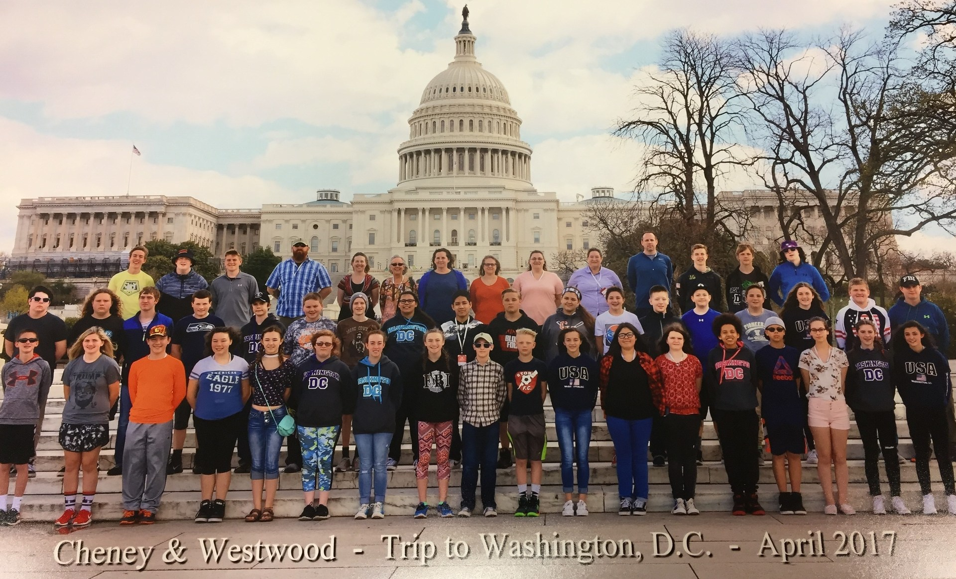 2017 DC Trip Group Picture