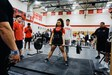 MHS Powerlifter Jayla Quichocho deadlifting weights.