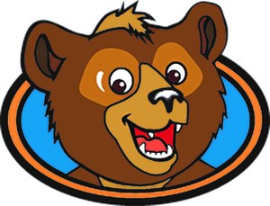 Cub Bear Head Logo