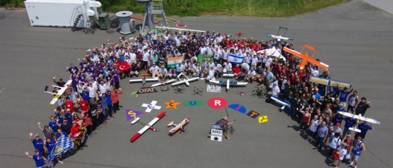 PVIT Competes in Unmanned Aerial Systems Competition Thumbnail Image