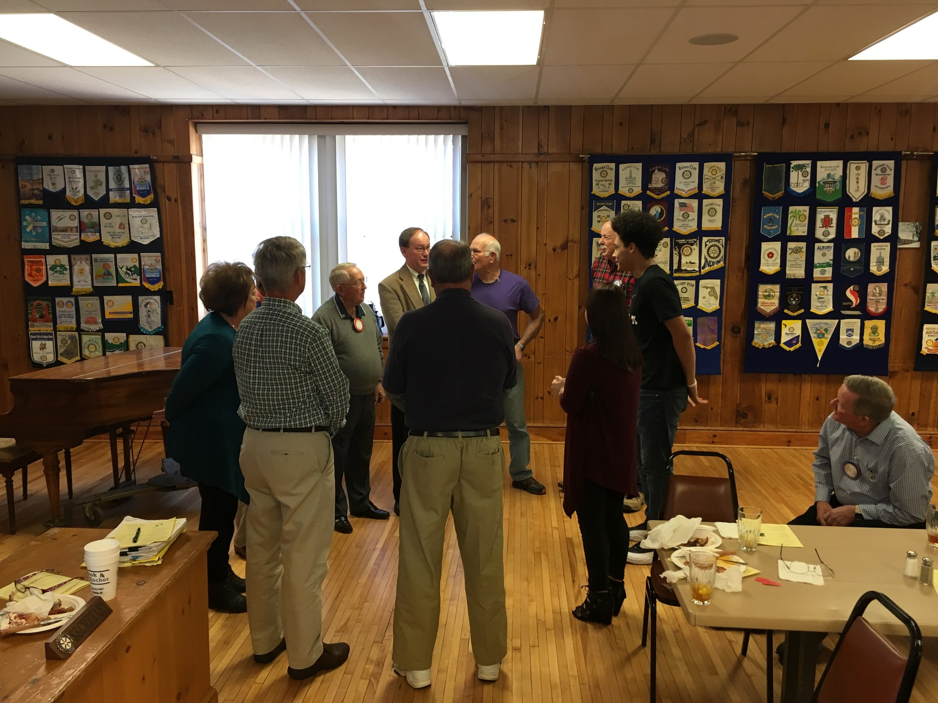 PGC shares information with Rotary of Marion