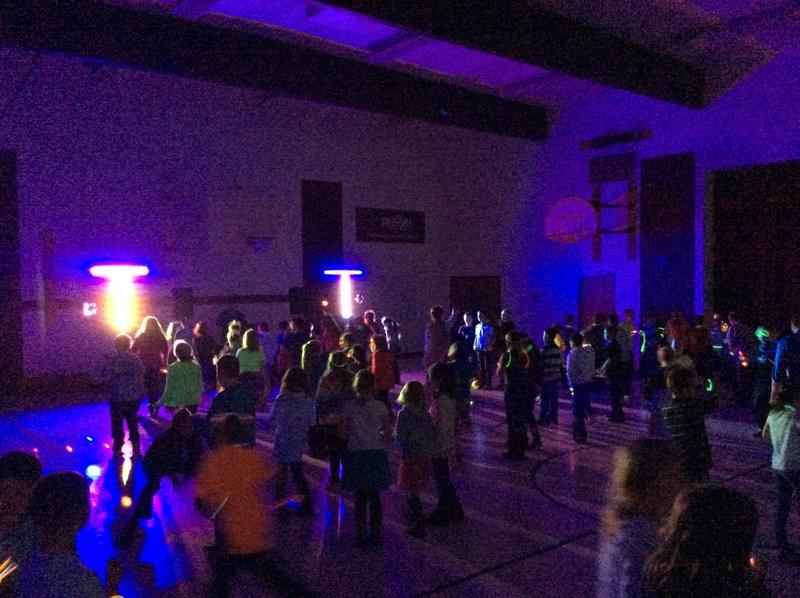 Black Light Dance Party