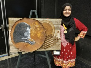 Sana Saif made West history at State by being our first student to earn a Gold Seal.