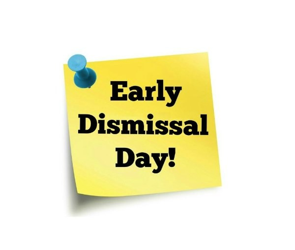June 2, 2017 - Early Dismissal Schedule Thumbnail Image