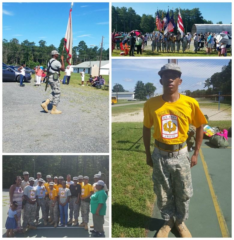 JROTC Cadets Shine at Cadet Camp Thumbnail Image