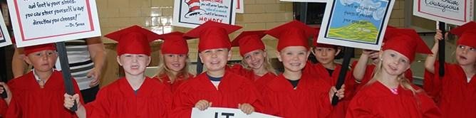 photo of preschool graduates