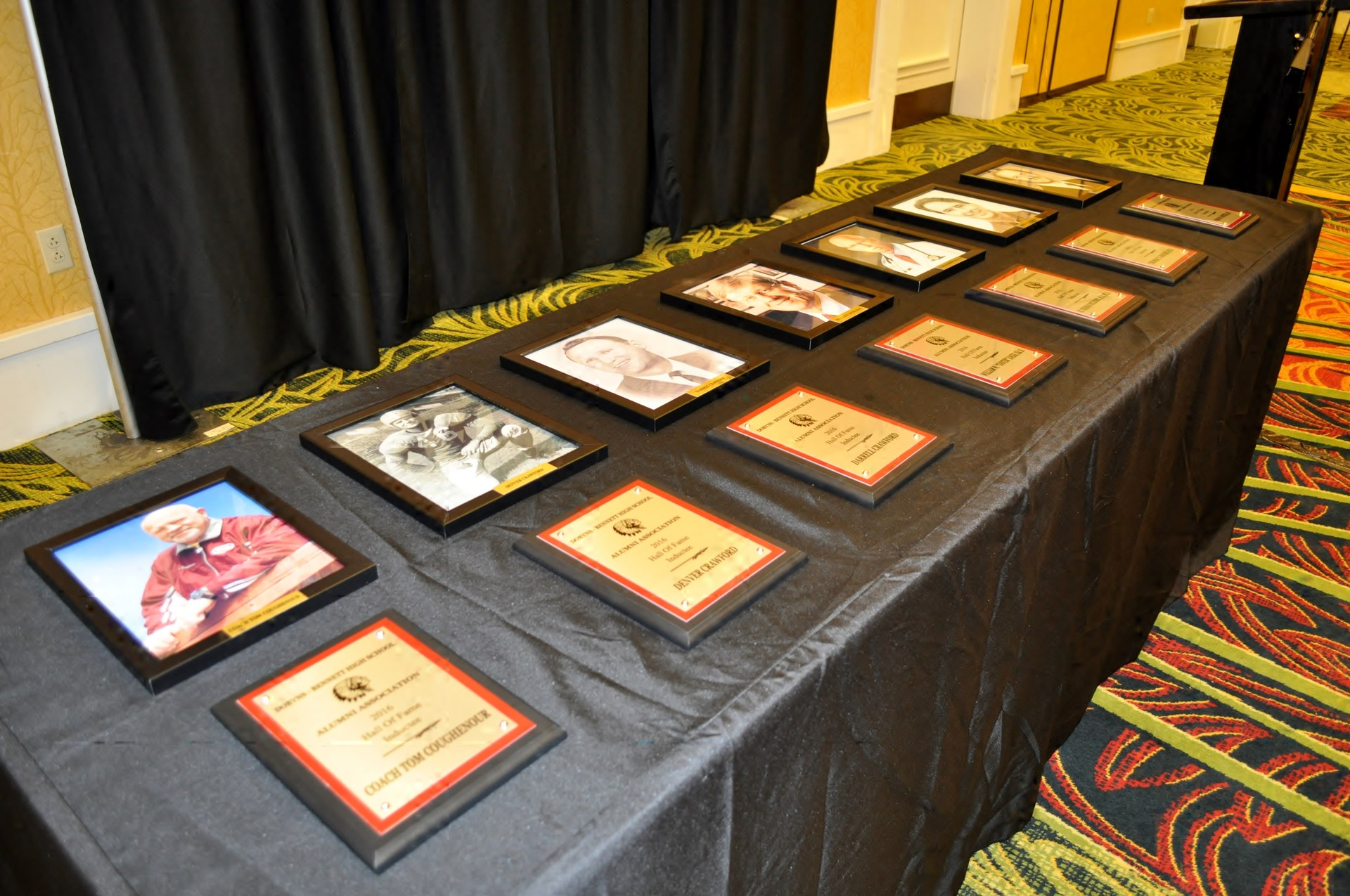 Class of 2016 Plaques