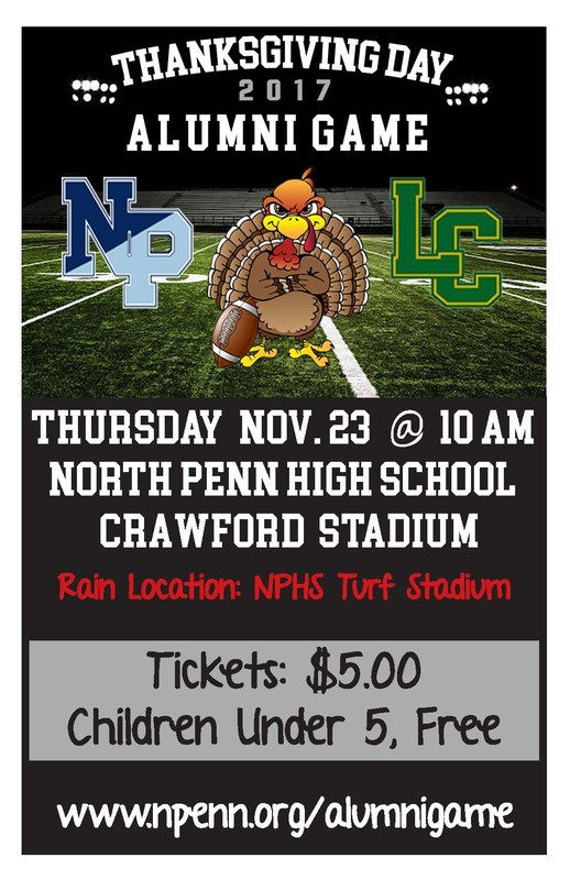 LC vs North Penn Alumni Thanksgiving Day Flag Football Game @ 10 am Featured Photo