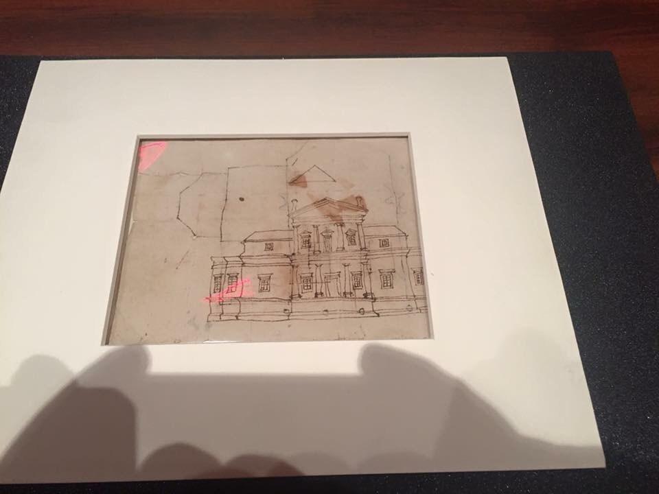 TJ's Sketch of Monticello