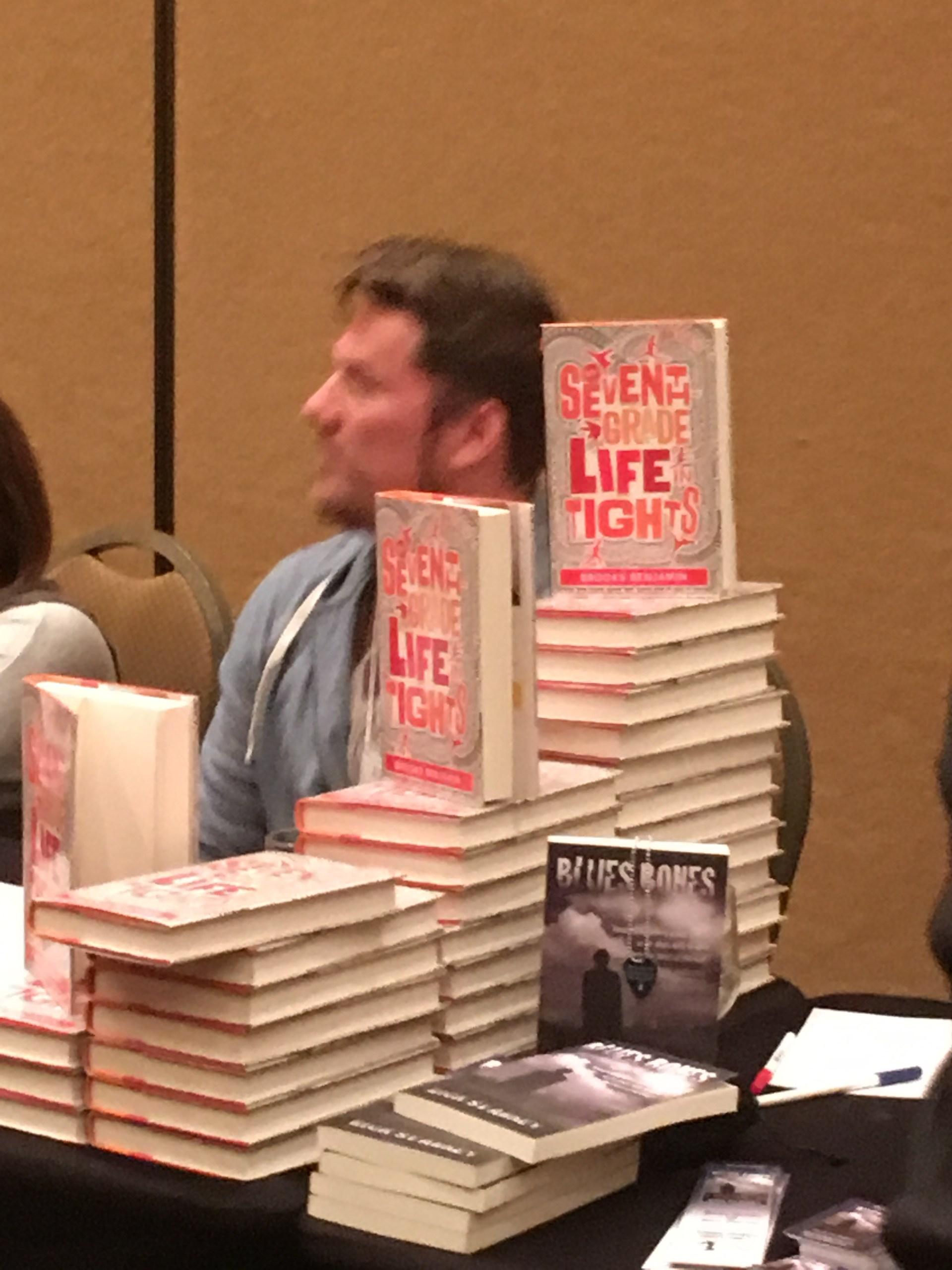 Author Brooks Benjamin at SCWIB 2016