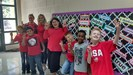 Standing tall in RED on Red Ribbon Week!