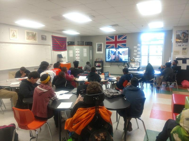 Skype in a Social Studies Classroom