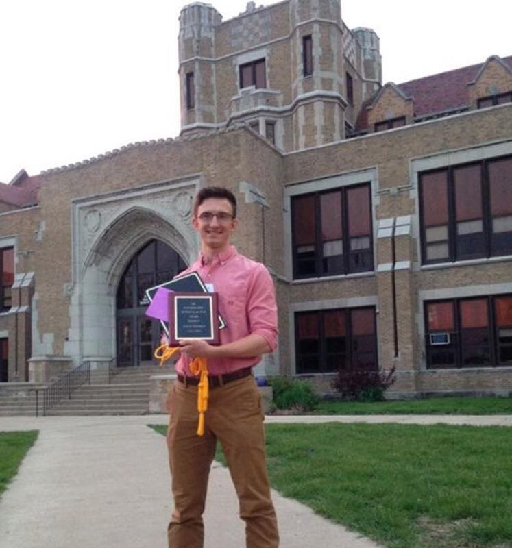 St. Anne School Alumnus Named Co-Student-of-the-Year at DHS Thumbnail Image