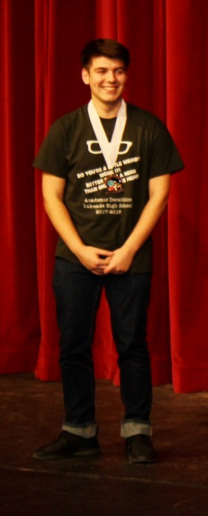 Jason Avila, Bronze medal the Interview Category