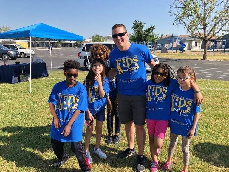 Kids and Cops participants