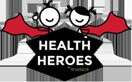 Logo for Health Heroes, http://healthheroesjobs.com/