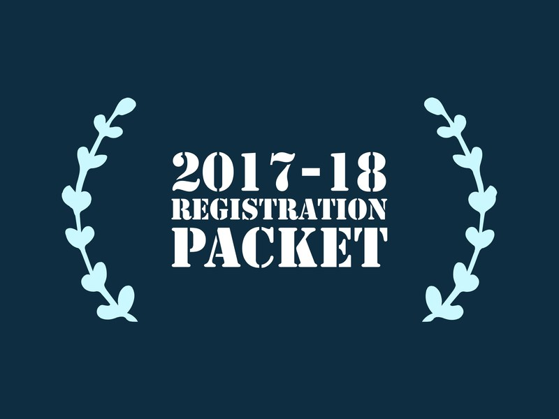 2017 - 18 Registration Packet Thumbnail Image