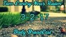 These are the daily announcements for March 2nd