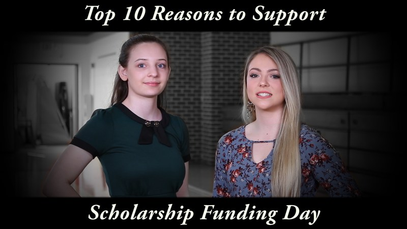 It's Here - Scholarship Funding Day! Thumbnail Image