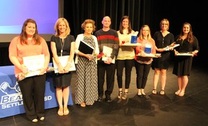 2016-17 WSISD Teachers of the Year