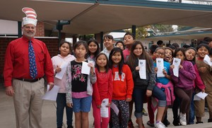 Willmore Celebrates Read Across America