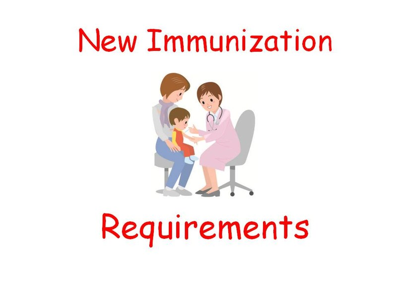 New School Immunization Requirements Featured Photo