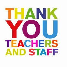 Thank You Teachers and Staff Clip Art