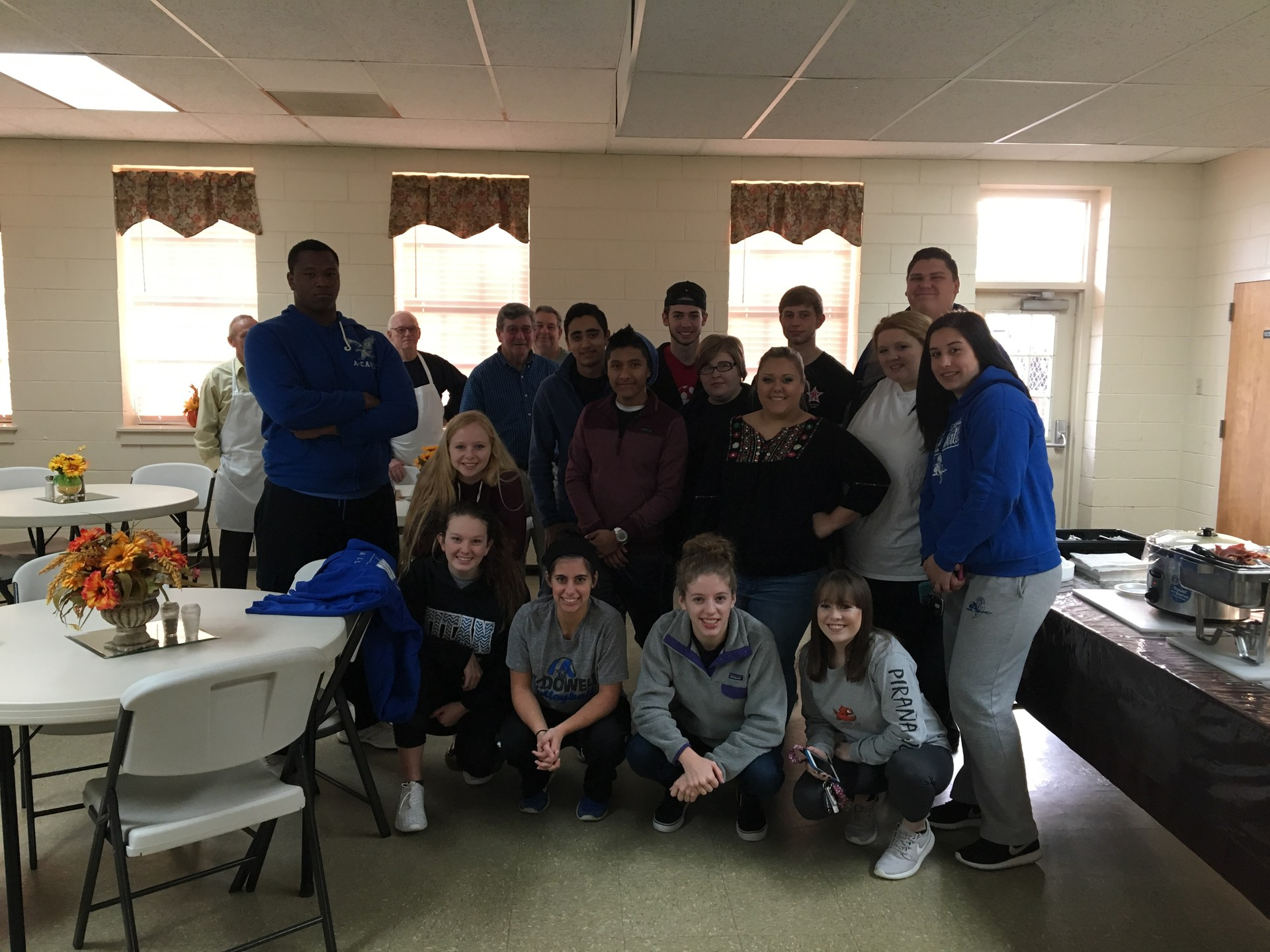 Thank you PG Baptist for breakfast for our PGC leaders before the mid year retreat