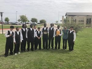 Manor New Tech Middle School's Men's Choir