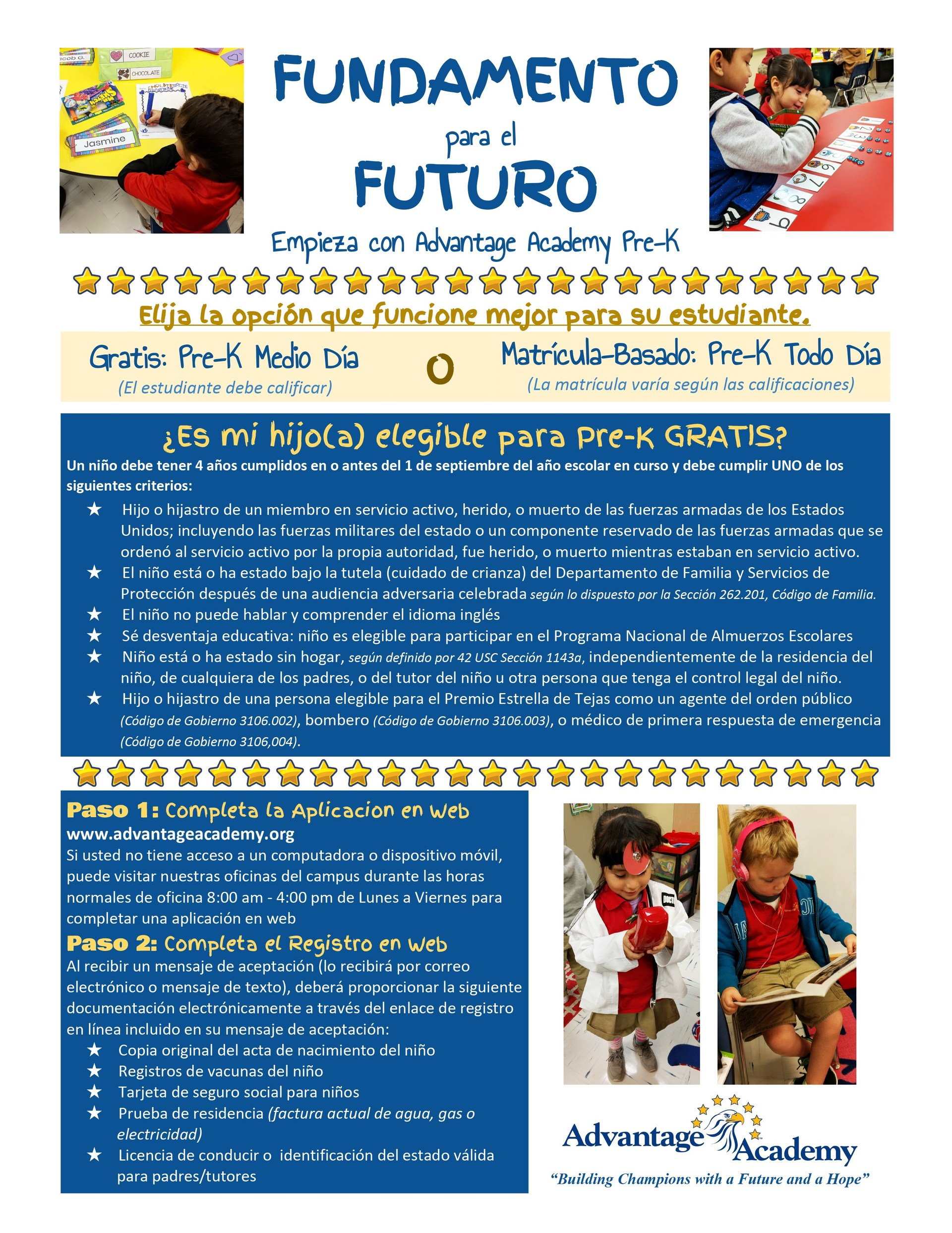Espanol Foundations for the Future PK