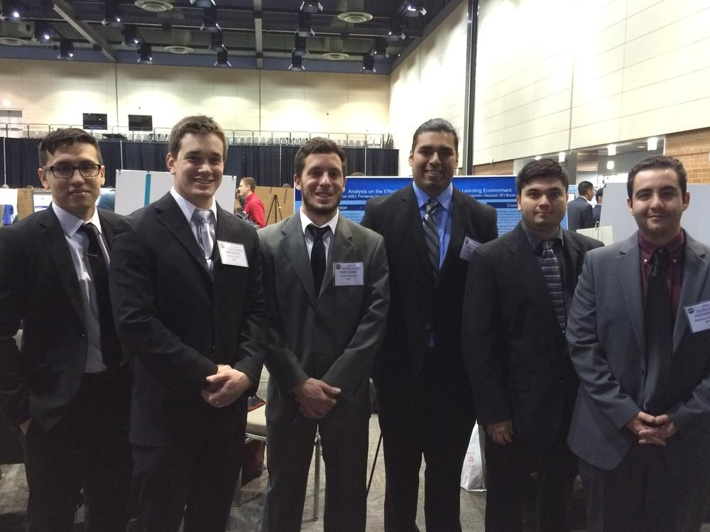 UIC Engineering Seniors at Engineering Expo