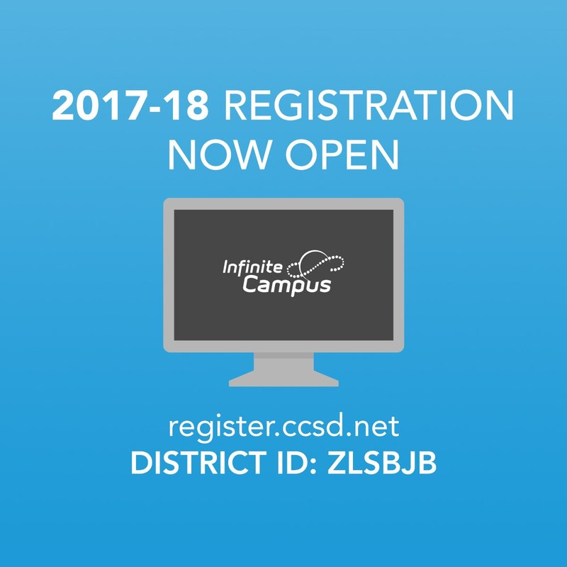 2017-2018 Online Registration is Open! Thumbnail Image